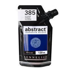 Sennelier Acrylic Color N121121 385 Primary Blue Abstract 120Ml