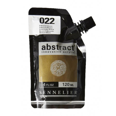 Sennelier Acrylic Color N121121 022 Iridescent Bronze Abstract 120Ml