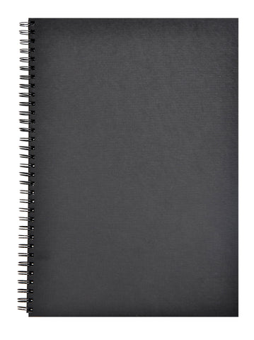Clairefontaine Goldline Wirebound Book 64sh 34264c Black P A3 140g