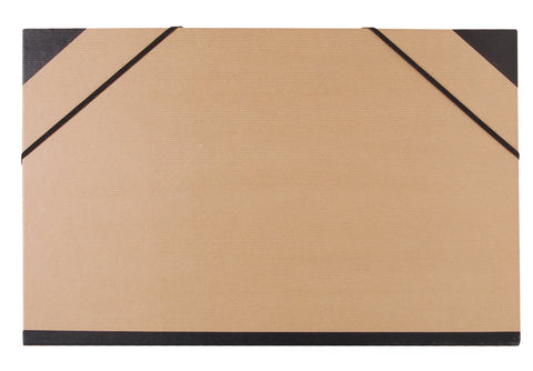 Clairefontaine Kraft Art Folder 44100c Elastic Brown A3+ 32x45