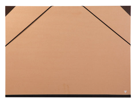 Clairefontaine Kraft Art Folder 44400c Elastic Brown 52x72