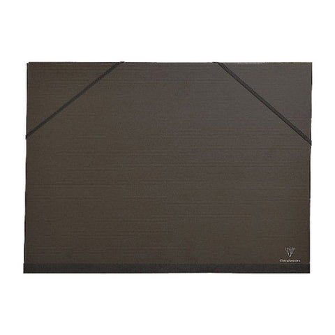 Clairefontaine Kraft Art Folder 48015c Elastic 3 Flaps Black A3+ 32x45
