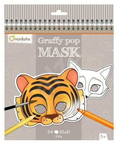 Avenue Mandarine Pop Mask Gy023O  Graffy Animals
