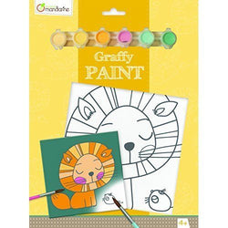 Avenue Mandarine Paint Board Pp010O  Graffy Lion
