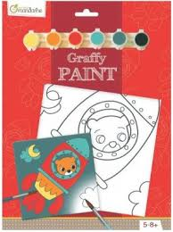 Avenue Mandarine Paint Board Pp017O  Rocket Bear
