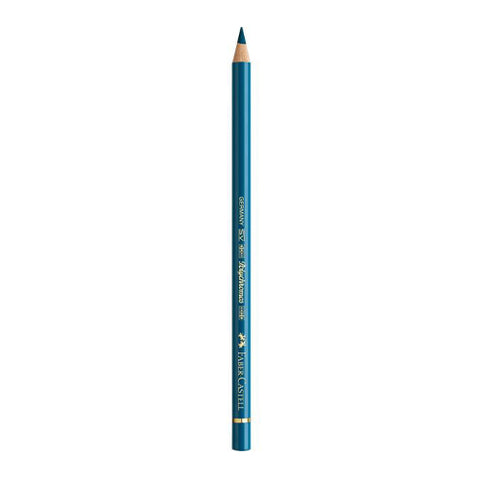 Faber Castell Colored Pencil  110155  155 Helio Turquoise Polychromos