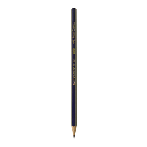 Faber Castell Drawing Pencil 1221  w/o eraser, 5B