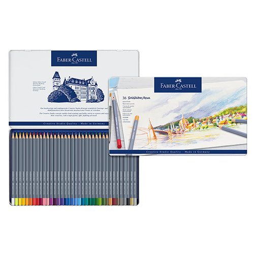 Faber-Castell Goldfaber Watercolour Pencil 36 colors set No. 114636 Water soluble colour pencil