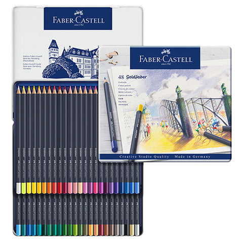 Faber-Castell Goldfaber Colour Pencil 48 colors set No. 114748 Permanent colour pencil