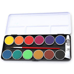 Finetec Watercolors Lo 12 Watercolour Fine Opaque 12 Pan Set