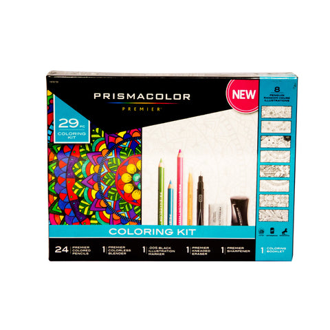 Prismacolor Coloring Set 4013986 24 Clrs Colored Pencil 1 Blender 1 ...