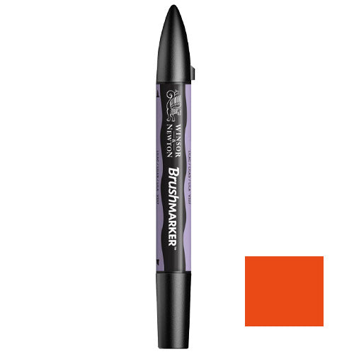 W&N Brush Marker Bright Orange