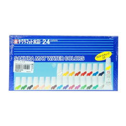 Sakura Watercolor Tube Emw24 24Clrs Mat Laminated