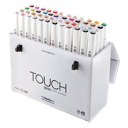 Shinhan Brush Marker Set 1214800 48clrs