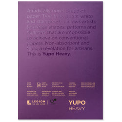 Legion yupo pad medium heavy 5 x 7 in 200 gsm