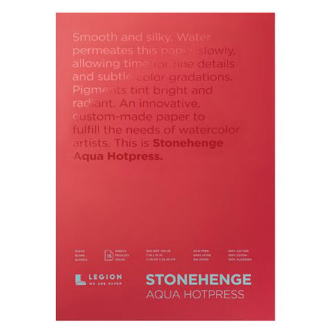 Legion stonehenge aqua block white cp 18 x 24 in 300 gsm