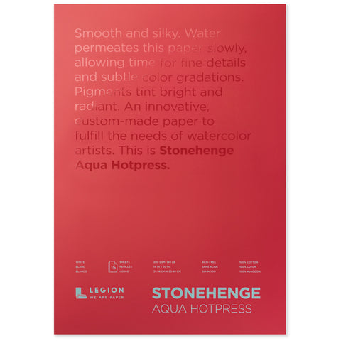 Legion stonehenge aqua block white hp 12 x 16 in 300 gsm