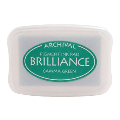 Tsukineko Craft Stamper Pad Br121 Gamma Green Brilliance
