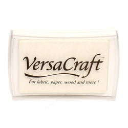 Tsukineko Craft Stamper Pad Vk180 White Versa Craft