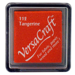 Tsukineko Craft Stamper Pad Vks112 Tangerine Versa Craft Small