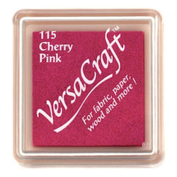 Tsukineko Craft Stamper Pad Vks115 Cherry Pink Versa Craft Small