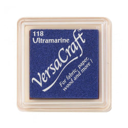 Tsukineko Craft Stamper Pad Vks118 Ultramarine Versa Craft Small