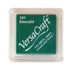 Tsukineko Craft Stamper Pad Vks121 Emerald Versa Craft Small
