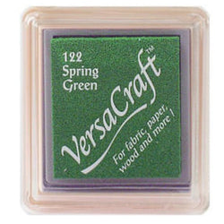 Tsukineko Craft Stamper Pad Vks122 Spring Green Versa Craft Small