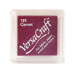 Tsukineko Craft Stamper Pad Vks125 Garnet Versa Craft Small