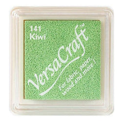 Tsukineko Craft Stamper Pad Vks141 Kiwi Versa Craft Small