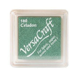 Tsukineko Craft Stamper Pad Vks160 Celadon Versa Craft Small