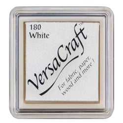 Tsukineko Craft Stamper Pad Vks180 White Versa Craft Small