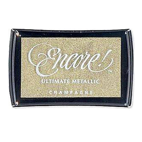 Tsukineko Craft Stamper Pad Um20 Champagne Encore Ultimate Metallic