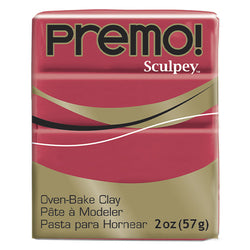 Sculpey Clay Pe02 5026 57g Premo Pomegranate Oven Bake 2 Oz