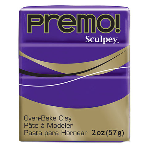 Sculpey Clay Pe02 5513 57G Premo Purple Oven Bake 2 Oz