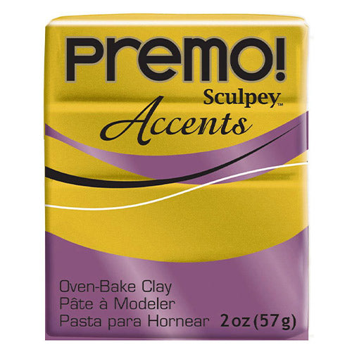 Sculpey Clay Pe02 5517 57G Premo Accents Antique Gold Oven Bake 2 Oz