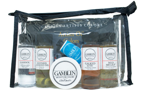 Gamblin Mediums Set 101005  Assorted
