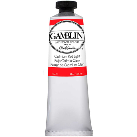 Gamblin Artist Grade Oil 1140 Cadmium Red Lt 37 ML