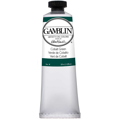 Gamblin Artist Grade Oil 1230 Cobalt Green 37 Ml
