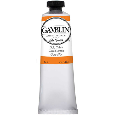 Gamblin Artist Grade Oil 1280 Gold Ochre 37 ML