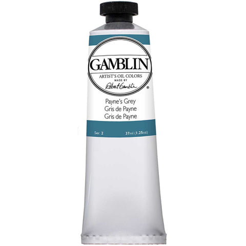 Gamblin Artist Grade Oil 1550 Paynes Grey   37 Ml