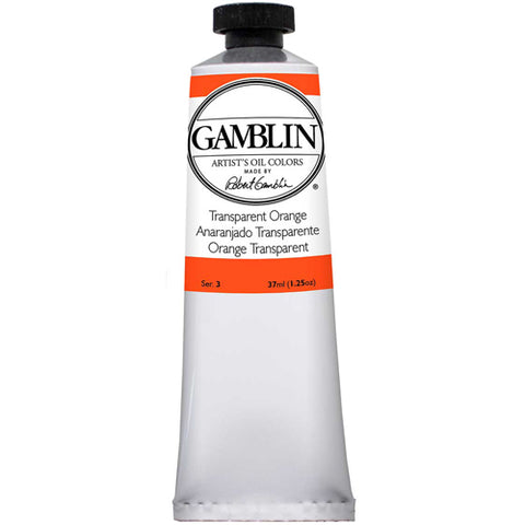 Gamblin Artist Grade Oil 1680 Transparent Orange 37 Ml