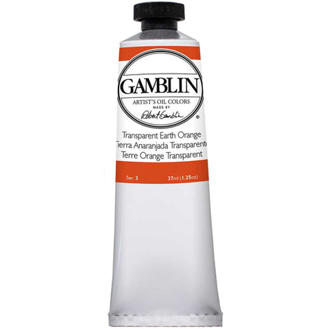 Gamblin Artist Grade Oil 1681 Transparent Earth Orange 37 Ml