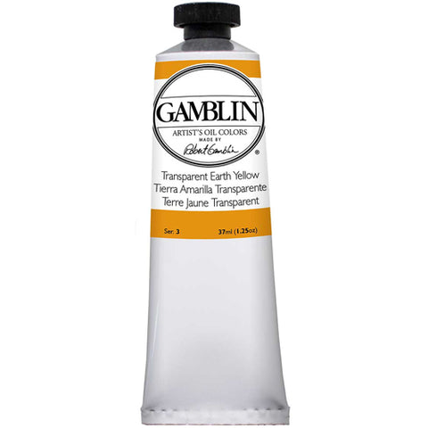 Gamblin Artist Grade Oil 1683 Transparent Earth Yellow 37 Ml