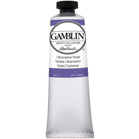 Gamblin Artist Grade Oil 1710 Ultramarine Violet 37 Ml