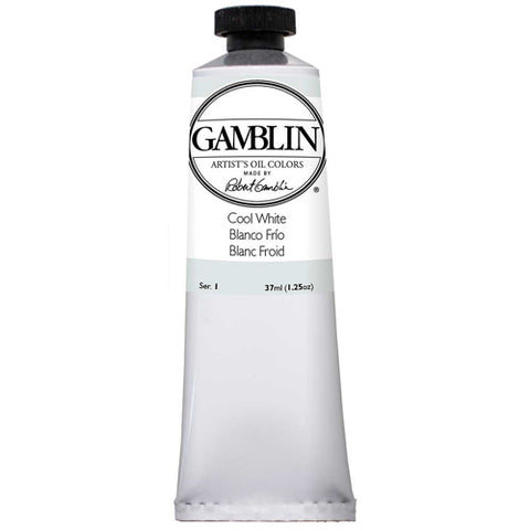 Gamblin Artist Grade Oil 1800 Cool White 37 Ml