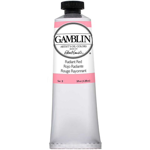 Gamblin Artist Grade Oil 1860 Radiant Red 37 Ml