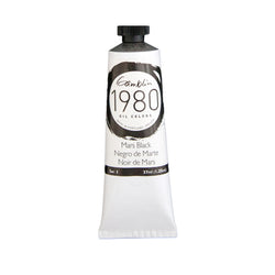 Gamblin 1980 Oil 7430 Mars Black   37 Ml