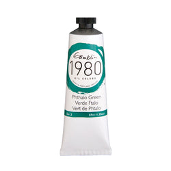 Gamblin 1980 Oil 7540 Phthalo Green     37 Ml