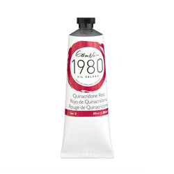 Gamblin 1980 Oil 7590 Quinacridone Red    37 Ml